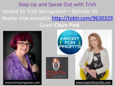 Guest: Claire Pink