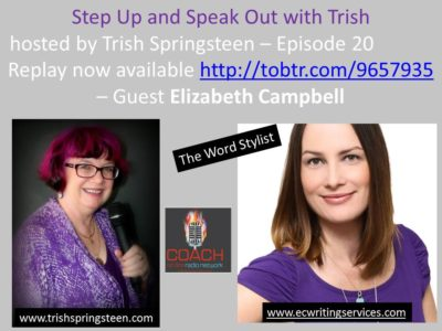 Guest: Elizabeth Campbell