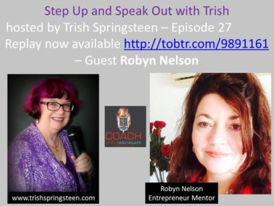 Guest: Robyn Nelson