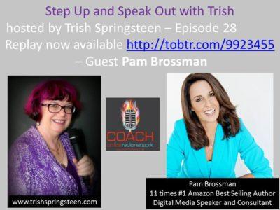 Guest: Pam Brossman