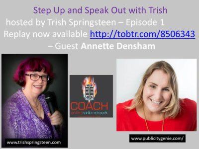 Guest: Annette Densham