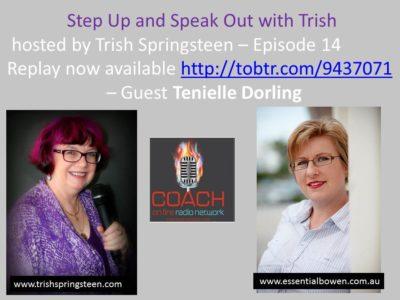 Guest: Tenielle Dorling