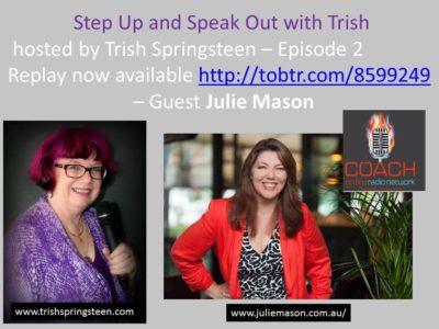 Guest: Julie Mason